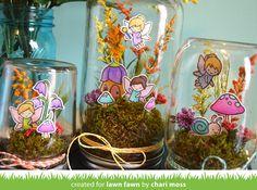 the Lawn Fawn blog: Lawn Fawn Video {2.23.16} Fairy Friends Jars by Chari