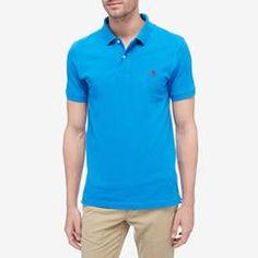 Ocean Coast Blue Ville Short Sleeve Two Pocket Polo Shirt Timberland, Polo Ralph Lauren, Polo Shirts, Tees, Fitness, Mens Tops, T Shirt, River, Fashion