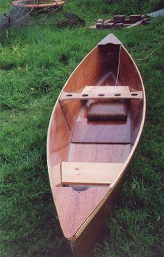 Bateau cheap canoe   Kim Morrison's beautiful cheap canoe
