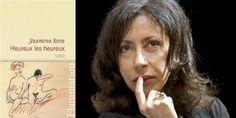 """On a lu """"Heureux les heureux"""", de Yasmina Reza : cruellement drôle Yasmina Reza, Roman, Lus, Paris, May 1, Authors, Letters, Woman, Montmartre Paris"""