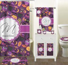 Halloween Bath Towel Set