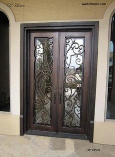Exterior Doors With Glass | Iron Doors   Exterior   Eclectic   Front Doors    Dallas