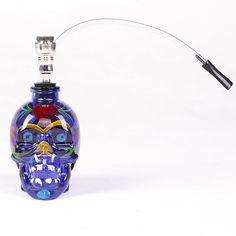 >> Click to Buy << 1PC New Fashion Coloured Drawing Glass Skull Water Pipe Mini Nargile Hookah Smoking Shisha Tobacco Herb Herbal Hookah Pipes #Affiliate