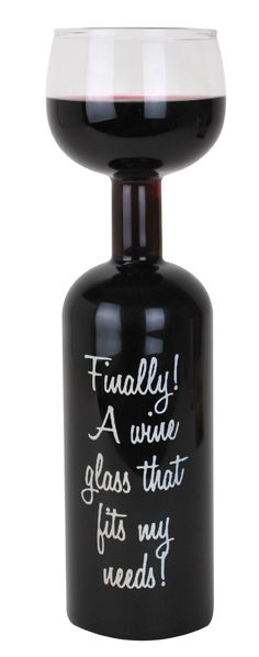 This is most definitely a #wine bottle that everyone will #enjoy. Perhaps we should get a few for our #restaurant!