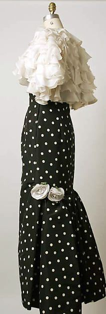 Evening dress * Oscar de la Renta 1988