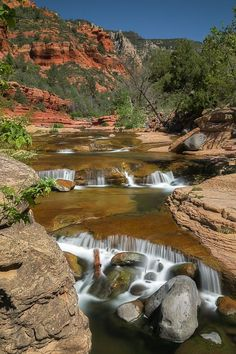 Slide Rock State Park in Sedona Arizona