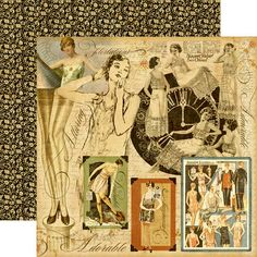 Graphic 45 - Domestic Goddess - 12 x 12 Double Sided Paper - Lady of the House.  How did I miss this one!