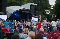 Flashback to the 80's Music Festival at Nostell Priory, Wakefield 2014