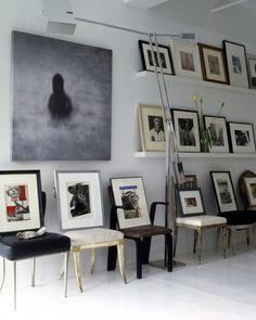 nice Déco Mur de photos  - vincente wolf / elledecor.jpg...