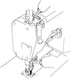 Все о швейных и вышивальных машинах Настройка и способы работы на плоскошовной машине