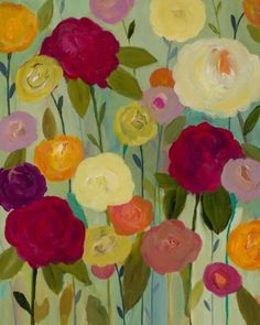intention 40x60 by carrie schmitt at carrieschmittdesign