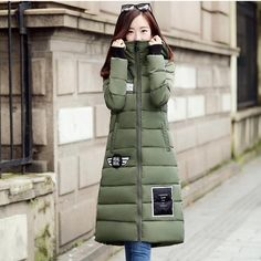 43.69$  Watch here - http://ali1gd.worldwells.pw/go.php?t=32742899651 - Hot 2016 Winter Fashion Clothes Women Long Jacket Down Coat Hooded Casual Outwear Cotton Padded Warm Parka Witch Magic Hat P952