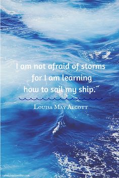 #Inspiration #Quotes: Growing up, Louisa May Alcott was my fave author.  I loved Jo, her character who wanted to be a writer more than anything else ~ catmichaelswriter.com