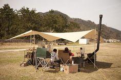 キャンプ camp camping タープ