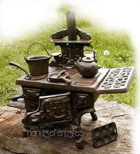 Werhahn Messing Antik Küche | Puppenherd Oma S Puppenofen Kuchenherd Fur Puppenstube