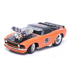 Promo Eboyutm 70599 Muscle Car Die Cast Models Remote Control Car With Light Music  RC Racing Car Gift #Die #Cast #Toys