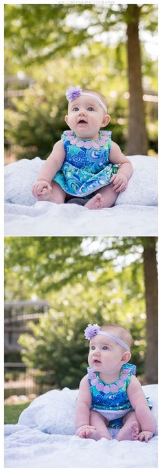 Maya's 6 month session at Pullen Park, Raleigh NC, Will Greene Photography