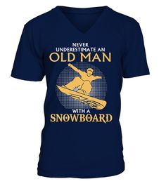 "# OLD MAN WITH A SNOWBOARD SPECIAL T-SHIRT .  Buy 2 or more to save on Shipping.HOW TO ORDER?1. Select style and color2. Select size and quantity3. Click ""RESERVE IT NOW""4. Enter shipping and billing information5. Done!"