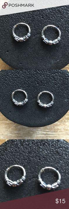 Earrings Sterling silver solid 925 ❤️ Earrings Sterling silver 925 new ❤️ Jewelry Earrings