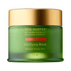 Shop Tata Harper's Clarifying Mask at Sephora. This complexion clearing treatment features an AHA superfruit blend and quartz sand micro crystals.