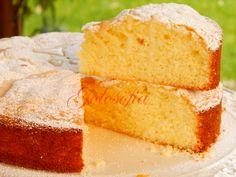 Torta+al+limone,+ricetta+soffice+senza+burro