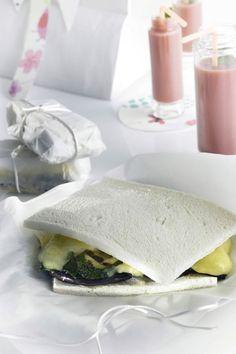 Sándwich de calabacín y berenjenas - TELVA