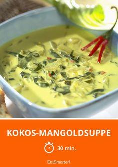 Kokos-Mangoldsuppe - smarter - Zeit: 30 Min. | eatsmarter.de
