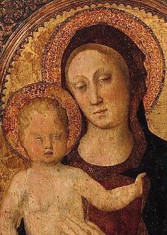 LA VIERGE, AVEC L'ENFANT JESUS