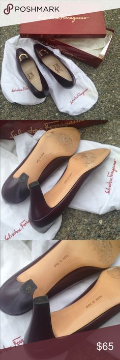 Salvatore Ferragamo Worn but still have life in them comes with box and dust bag,true to size 6.5 B Salvatore Ferragamo Shoes Heels