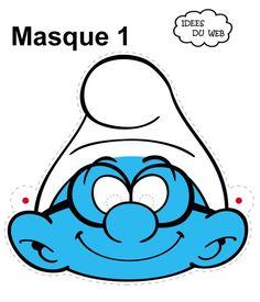 Ειδική Διαπαιδαγώγηση            : Ιδέες για αποκριάτικες μάσκες.. Printable Halloween Masks, Printable Masks, Printables, Free Printable, Papercraft Anime, Masque Halloween, Preschool Art Activities, Classic Cartoon Characters, Disney Characters