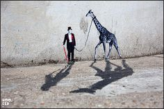 Pablo Delgado - Miniature Street Art.