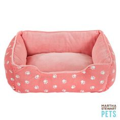Martha Stewart Pets® Paw Print Cuddler Pet Bed | Beds | PetSmart