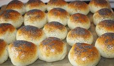 Kærnemælksboller med kartofler | Pandesal, Bagel, Hamburger, Deserts, Food And Drink, Bread, Baking, Breakfast, Recipes