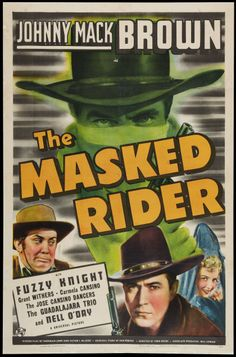 """Movie Posters:Western, The Masked Rider (Universal, 1941). One Sheet (27"""" X 41"""").Western.. ... Image #1"""