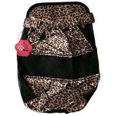 Pet Dog Puppy Cat Backpack Brown Leopard Print Carrier Pouch with Chest Strap *** You can find more details by visiting the image link. (This is an affiliate link and I receive a commission for the sales) #PetCats