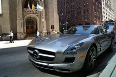 Mercedes Benz SLS    This supercar was developed to replace the Mercedes Benz SLR-MCLaren and is the spiritual successor to the 300SL Gullwing
