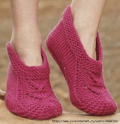 Knitting slippers from Drops.. Discussion on LiveInternet - Russian Service Online Diaries