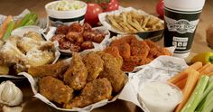 Our family loves WINGSTOP! Tomorrow we head to Kennesaw GA Wingstop for their Grand Opening! I Love Food, Good Food, Yummy Food, Wingstop, Boneless Wings, Great Recipes, Favorite Recipes, Best Food Ever, What To Cook