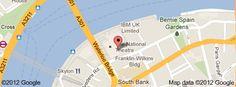 The National Theatre, South Bank, London, National Theatre, Map, London, Paris, Inspiration, Biblical Inspiration, Location Map, Maps, London England