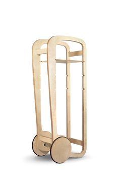 Ltd Edition Fleimio Trolley birch.