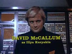 """McCallum became very well-known once he began appearing in """"The Man from U.N.C.L.E."""" television series as Illya Kuryakin starting in 1964. The spy craze started by the James Bond film series was in full swing and McCallum appeared in teen magazines, comic books, records, ViewMaster reels, posters and toy boxes. After the series ended, he did mostly guest-star work, but he has achieved new attention as Dr. Donald """"Ducky"""" Mallard on the hit show """"N.C.I.S."""""""