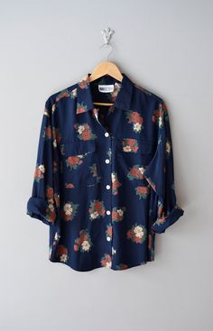 Pure Blyss. floral button down