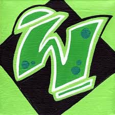 Graffiti Letter W Grafitti Letters, Graffiti Alphabet, Alphabet Art, Graffiti Lettering, Letter W, Go Green, Drawing Reference, Cover Design, Street Art