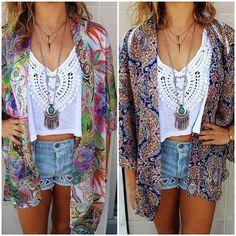kimono with shorts (2)