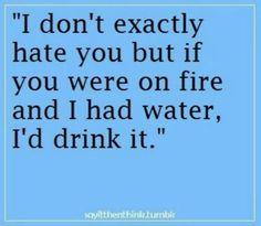 Burn lol