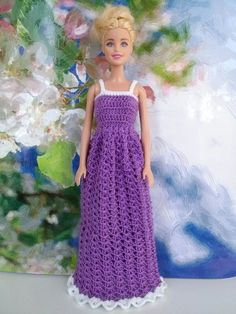 Вязанная одежда для кукол Барби, обувь и сумочки (knitted clothes for Barbie dolls, footwear and bags)
