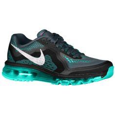 Nike Air Max 2014 - Women\u0027s - Dark Magnet Grey/Hyper Turquoise/Black 7