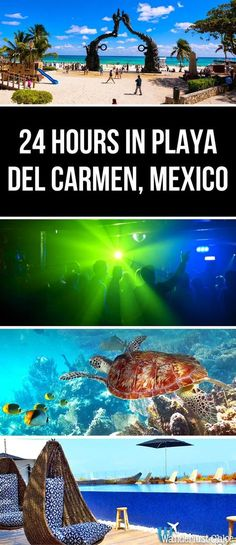 24 Hours In Playa Del Carmen, Mexico. From great breakfasts and the top beach spots, to the best tacos and awesome nightlife, find out how to spend the ultimate day in Playa Del Carmen, Mexico.