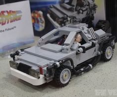 #Lego 'Back to the Future' #DeLorean materializes at Comic-Con, ships next month