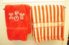 Monogram Towels!